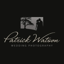 Patrick Watson Wedding Photography Logo Design by Cameron Creative, Norwich