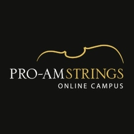 Pro-am Strings Logo Design