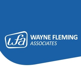 Wayne Fleming Associates Logo Design