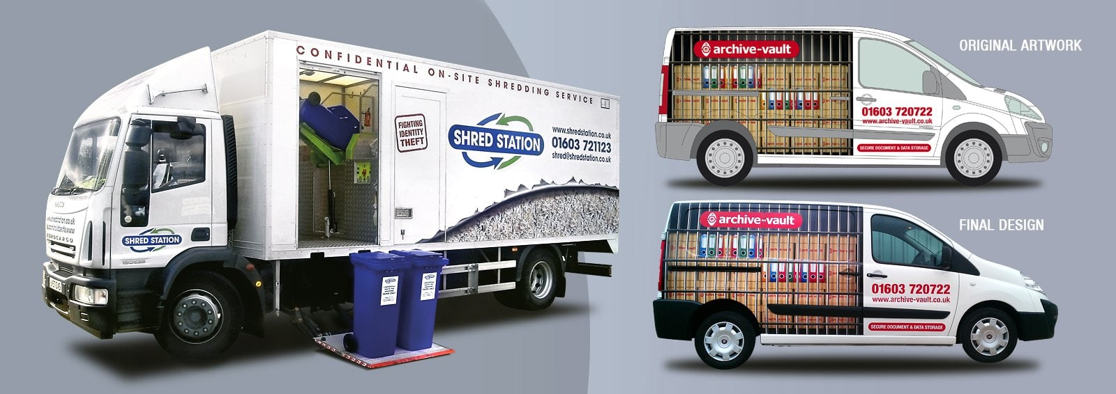 Custom Vehicle Graphics by Cameron Creative, Norwich