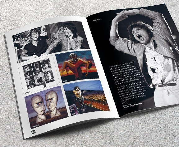 Off Beat Lounge Brochure by Cameron Creative