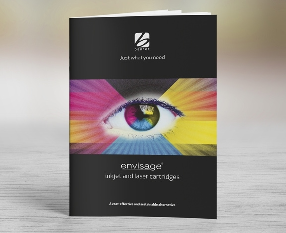 Banner Envisage Brochure Design by Cameron Creative