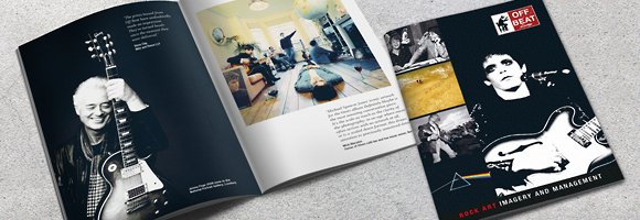Off Beat Lounge Brochure Design by Cameron Creative