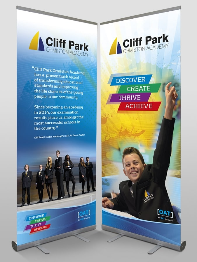 CPOA Roller Banners by Cameron Creative