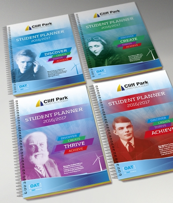 CPOA Student Planner Cover Designs by Cameron Creative