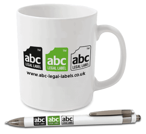 ABC Legal Labels Promotional Mug and Pen
