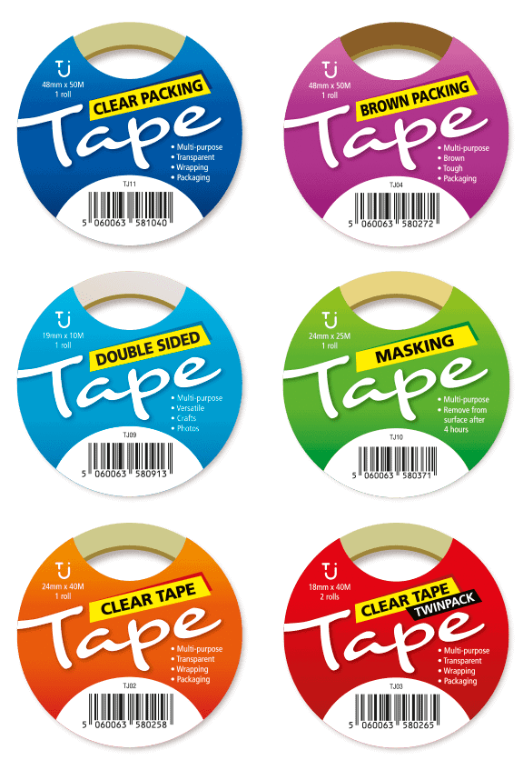 TJ Tapes - Branding by Cameron Creative