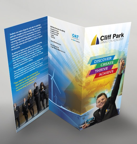 CPOA Leaflet Design by Cameron Creative