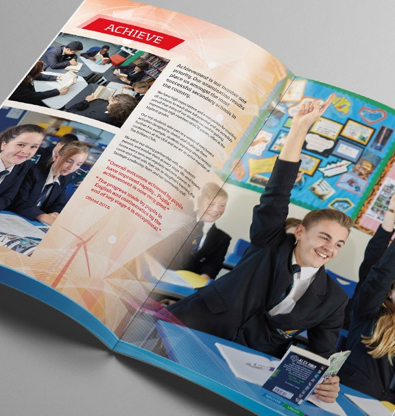 Cliff Park Ormiston Academy Prospectus Design By Cameron Creative