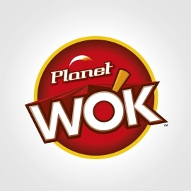 Planet Wok Logo Design