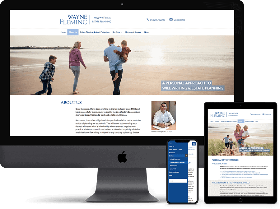 Website design and hosting by Cameron Creative, Norwich
